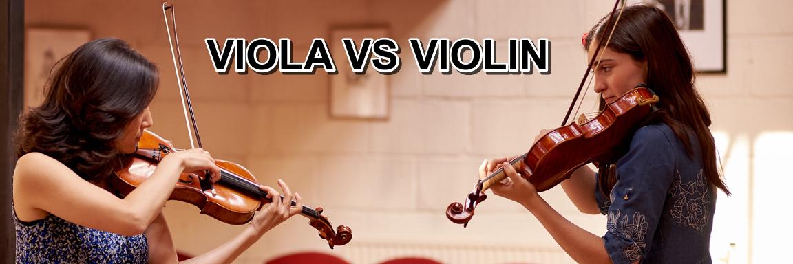 Differences Between Violas and Violins