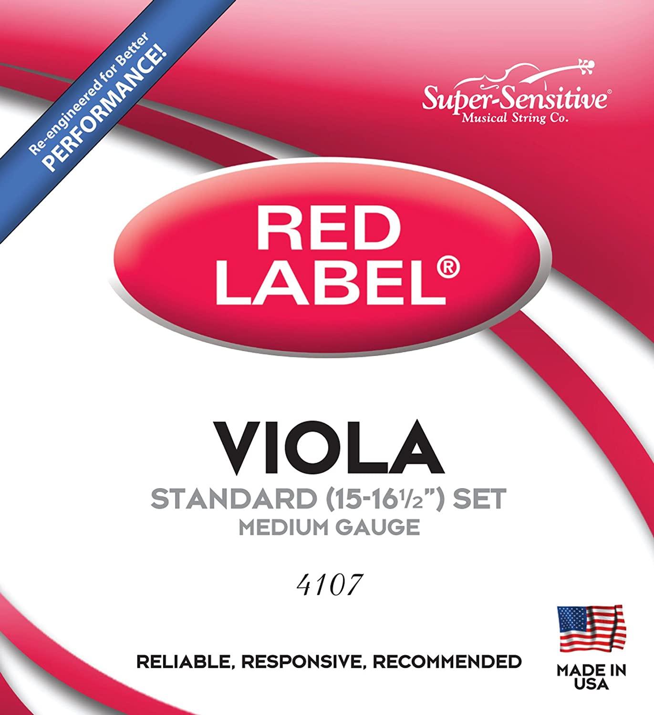 Super Sensitive Viola Strings (4107)