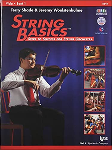 115VA - String Basics: Steps to Success for String Orchestra Viola Book 1