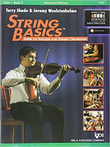 117VA - String Basics Book 3 - Viola