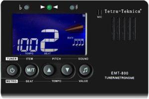 Tetra-Teknica Essential Series EMT-800 LCD Display 3in1 Digital Metronome, Tuner and Tone Generator